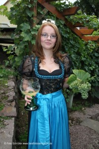 Weinkönigin Nicole Ronge