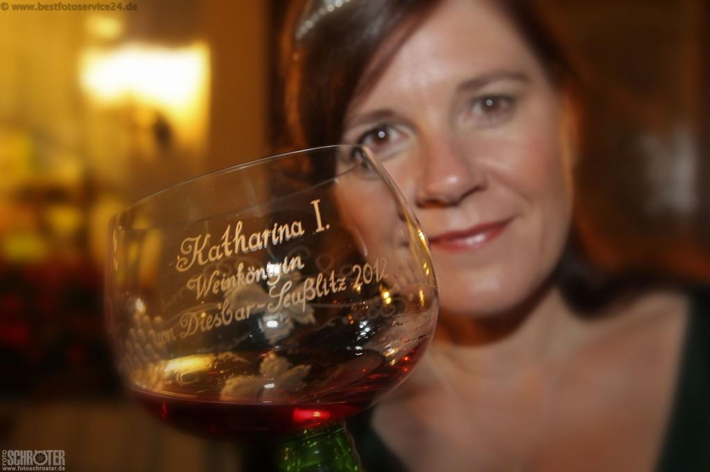 Weinkoenigin Katharina I.